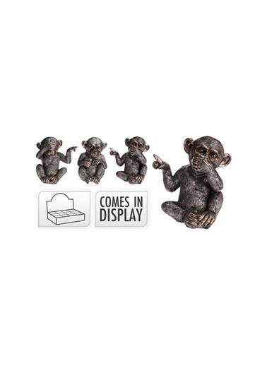 Boyner Evde Boyner Ev Üç Bilge Maymun Biblo Renksiz